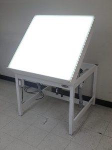 Tilt Top Light Table