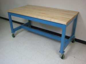 Heavy Duty Work Table with wheels