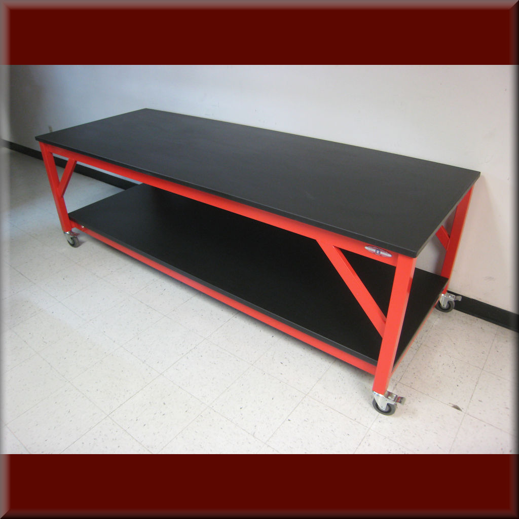 Table Model A-109P-HD – Heavy Duty Flat Top Workbench
