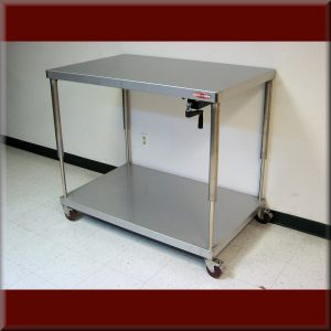 Adjustable Height Carts