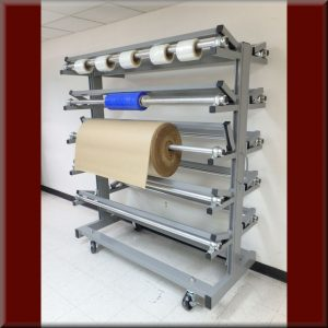 Roll Storage Carts