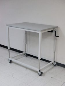 Picture of a height adjustable desk