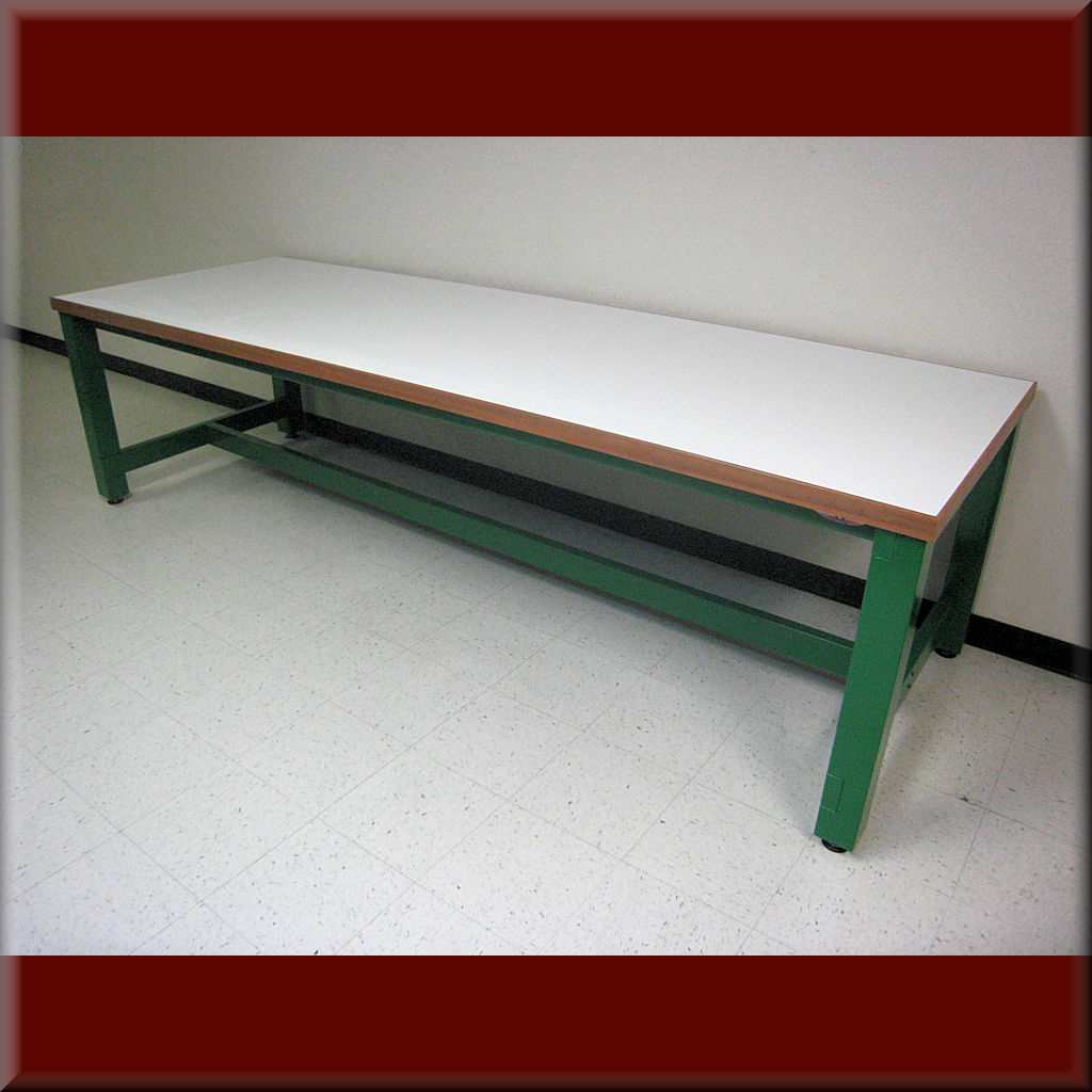 Table Model A-109P-WD-ESD – ESD Flat Top Wood Frame Workbench