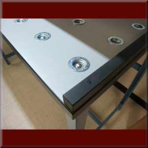 RDM TOPS - Pneumatic Pop-Up Ball Transfer Tops