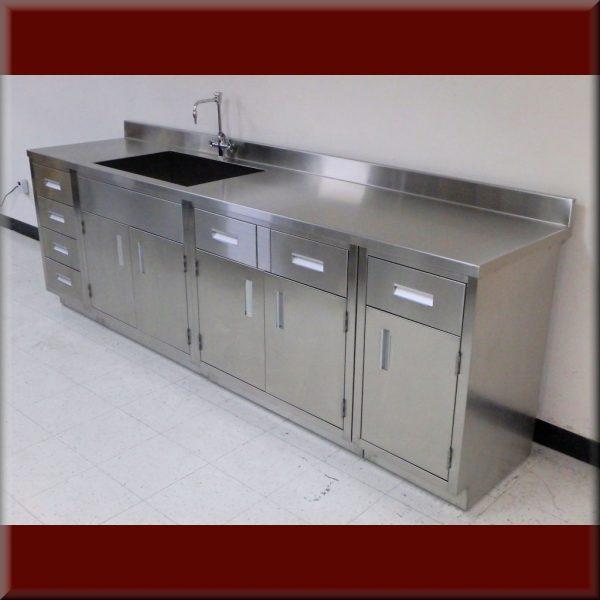 RDM Stainless Steel Casework