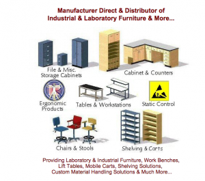 RDM Industrial and Laboratory Furniture Products
