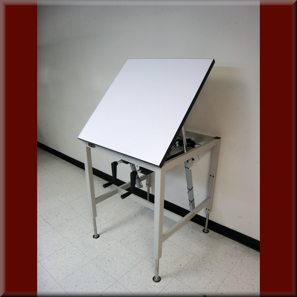 Table Model A-107P-TILT – Tilt Top Lift Table