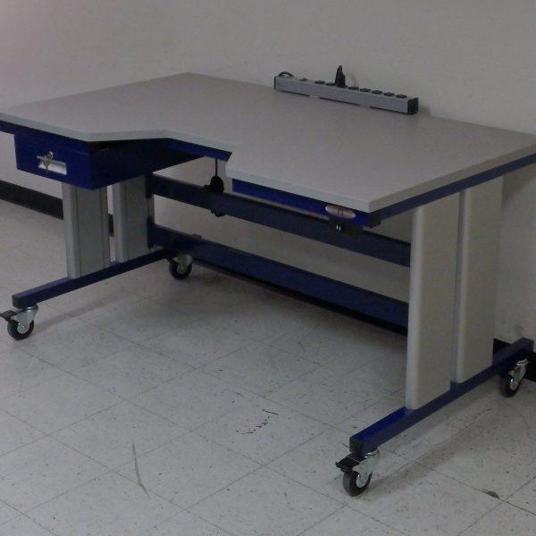 Ergonomic Lift Table i-107P-1000-REC-CSTR-01