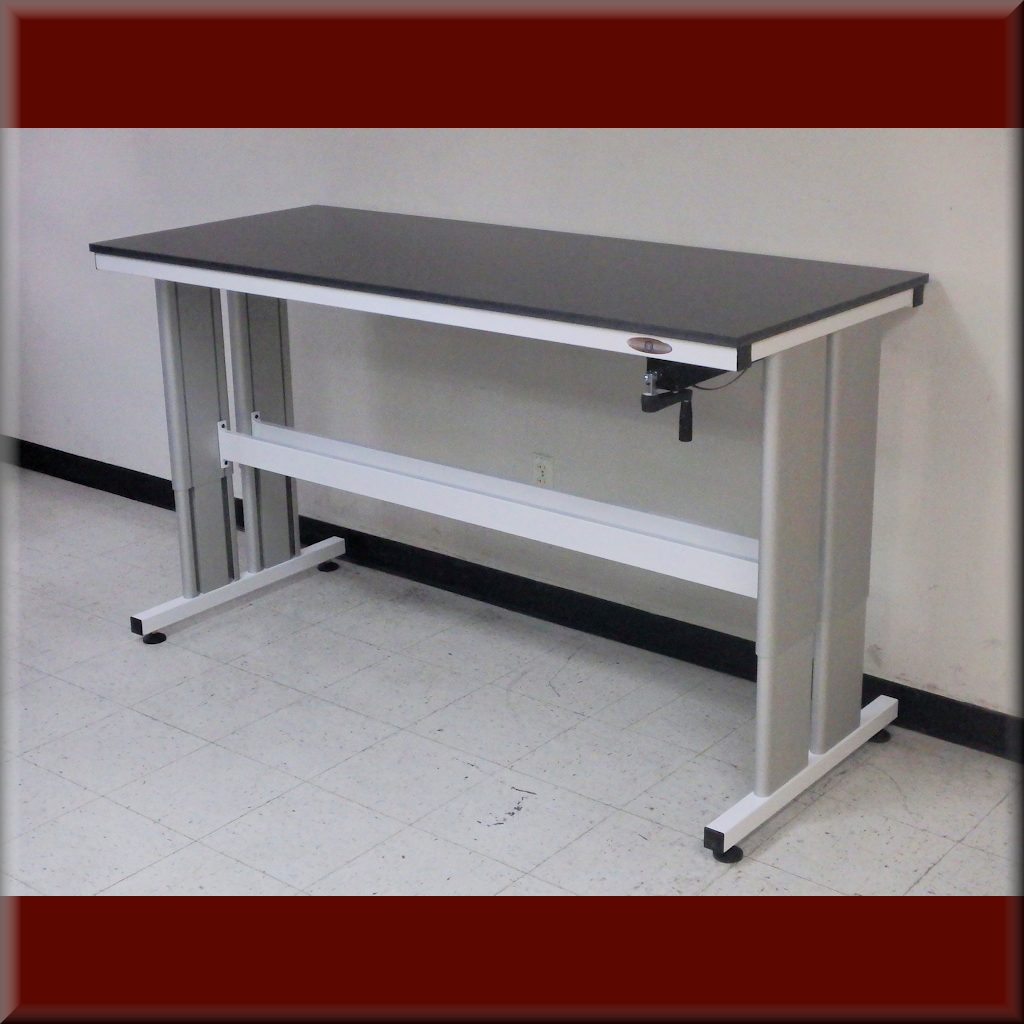 Table Model i-107P-1000 – i-Frame Adjustable Height Table – 1,000 lb Capacity Lift