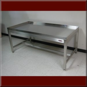 Stainless Steel Drain Top Table - Model A-109P-SS-DRAIN-01