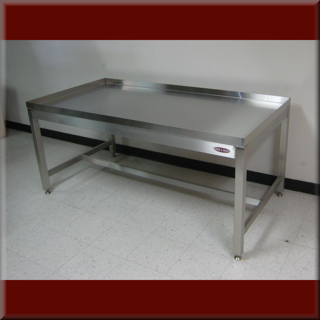 Table Model A-109P-DRAIN – RDM Drain Top Workbench
