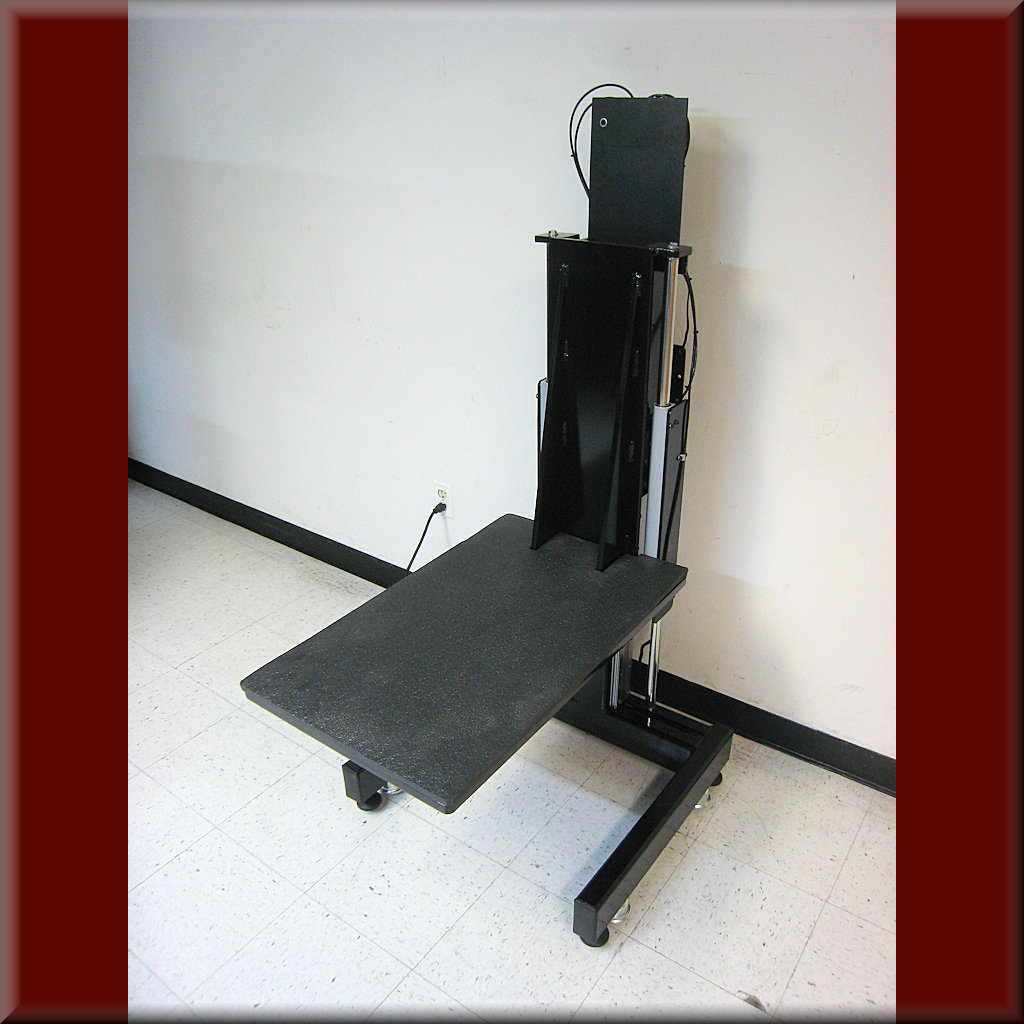 Table Model LP-105P – Low-Start Platform Lift